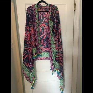 Lilly Pulitzer caftan